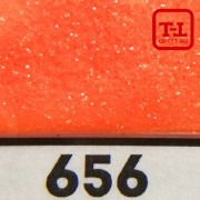 БЛЕСК 656 - ОРАНЖЕВЫЙ ГЛЯНЦЕВЫЙ неон 500 грамм размеры 0.1/0.2/0.4/0.6/1.0/4.0 мм
