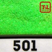 БЛЕСК 501 - ЗЕЛЁНЫЙ ЗОЛОТОЙ перламутровый неон 500 грамм размеры 0.1/0.2/0.4/0.6/1.0/4.0 мм