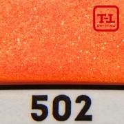 БЛЕСК 502 - ОРАНЖЕВЫЙ ЗОЛОТОЙ перламутровый неон 500 грамм размеры 0.1/0.2/0.4/0.6/1.0/4.0 мм