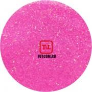 Розовый Неоновый перламутровый по 500 грамм от 0.1 до 4.0 мм. в ассортименте.