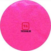 Розовый (фиолетовый блеск) Неоновый перламутровый по 500 грамм от 0.1 до 4.0 мм. в ассортименте.