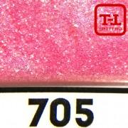 БЛЕСК 705 - АЛЫЙ ПЕРЛАМУТР 500 грамм от 0.1 до 4.0 мм. в ассортименте.