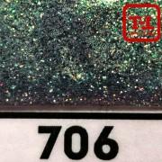 Блеск 706 Чёрный перламутровый 0.2 мм. (мелкие)