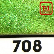 БЛЕСК 708 - ЗЕЛЁНЫЙ ПЕРЛАМУТР 500 грамм от 0.1 до 4.0 мм. в ассортименте.