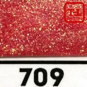 Блеск 709 Красный перламутровый 0.4 мм.