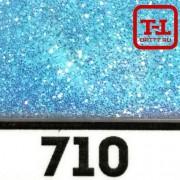 Блеск 710 Голубой перламутровый 0.2 мм. (мелкие)