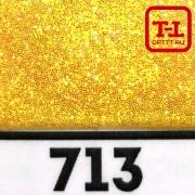 БЛЕСК 713 - ЖЁЛТЫЙ ПЕРЛАМУТР 500 грамм от 0.1 до 4.0 мм. в ассортименте.