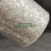 Блеск 945 Бело-серебряный (Искристый снег) 1.0 мм.