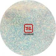 Белые перламутровые блёстки - Золотой с голубым оттенком 500 грамм от 0.1 до 4.0 мм. в ассортименте.