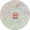 Белые перламутровые блёстки - Микс 0.1 мм (мелкие) от 3 грамм