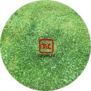 Зелёные перламутровые блёстки 500 грамм от 0.1 до 4.0 мм. в ассортименте.
