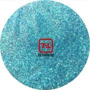 Голубые перламутровые блёстки 500 грамм от 0.1 до 4.0 мм. в ассортименте.
