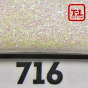 Блеск 716 Белый перламутровый 0.2 мм. (мелкие)