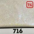 Блеск 716 Белый перламутровый - 0.1 мм (мелкие) от 3 грамм