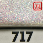 Блеск 717 Белый перламутровый 0.4 мм.