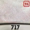 Блеск 717 Белый перламутровый - 0.1 мм (мелкие) от 3 грамм
