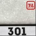 Блеск 301 БЕЛЫЙ ГЛЯНЦЕВЫЙ 500 грамм размеры 0.1/0.2/0.4/0.6/1.0/4.0 мм.