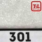 Блеск 301 Белый глянцевый - 0.1 мм (мелкие)
