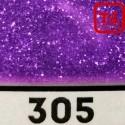Блеск 305 АМЕТИСТОВЫЙ ФИОЛЕТ ГЛЯНЦЕВЫЙ 500 грамм размеры 0.1/0.2/0.4/0.6/1.0/4.0 мм в ассортименте