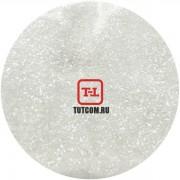 Белый глянцевый прозрачный 0.2 мм. (мелкие+) от 3 грамм