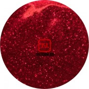 Красный глянцевый прозрачный 0.2 мм. (мелкие+) от 3 грамм