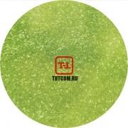Зелёный глянцевый прозрачный 0.2 мм. (мелкие+) от 3 грамм