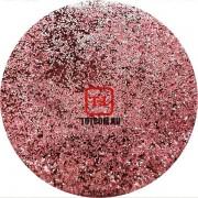 Розовый стальной Неоновые Серебряные металлик блёстки 0.2 мм. (мелкие+) от 3 грамм