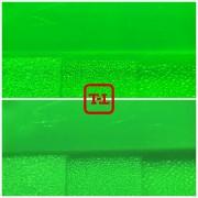 Зелёный флуоресцентный пигмент серия для пластика - опт мешок 20 кг.