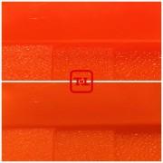 Оранжевый флуоресцентный неоновый пигмент серия ХS - опт мешок 10 кг.