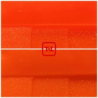 Оранжевый флуоресцентный пигмент серия для пластика - опт мешок 20 кг.