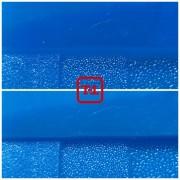 Синий флуоресцентный пигмент серия для пластика - опт мешок 20 кг.