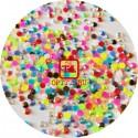Стразы Цветной микс акрил размер набор 2мм