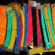 Светоотражающая полоска самоклейкая (Цвет и размер в ассортименте)