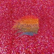 Красный голографик металл. 0.1 мм. (пыль) от 3 грамм