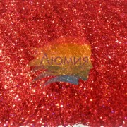 Тёмный Красный голографик металл. 3 - 50 грамм