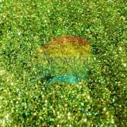 Салатовый голографик металл. 0.1 мм. (пыль) от 3 грамм
