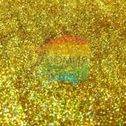 Золото голографик металл. 0.1 мм. (пыль) от 3 грамм