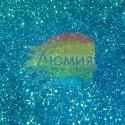Синие перламутровые блёстки 500 грамм от 0.1 до 4.0 мм. в ассортименте.