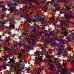 Звёзды Красный голографик пакет