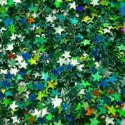 Звёзды Зелёный голографик