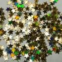Звёзды Золото голографик пакет 300 грамм