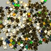 Звёзды Золото голографик