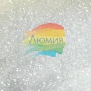 Белый Искрящийся Снег - серия Цветные глянцевые 3 - 50 грамм