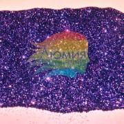 Сине-фиолетовый металл. серия цветные 0.1 мм. (пыль) от 3 грамм