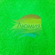 Зелёный - Неоновая Матовая 500 грамм от 0.1 до 4.0 мм. в ассортименте