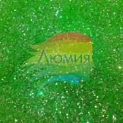 Зелёный - Неоновые Золотые от 0.2 до 1.0 мм. (5 - 500 грамм)