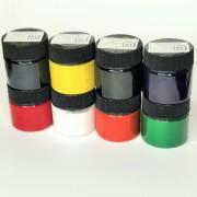 КРАСИТЕЛЬ ПИГМЕНТНЫЙ ПАСТА -  КОСМЕТИК цвет БЕЛЫЙ 20 грамм