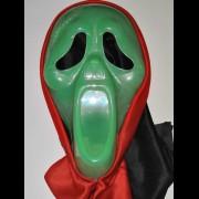 """Маска  - """"Крик в капюшоне зелёный"""""""