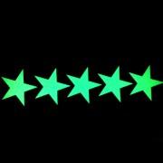 Звезды светящиеся в темноте - 5 элементов