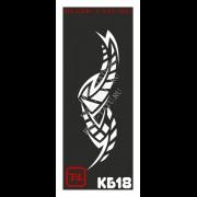 Трафарет Кельтский узор - КБ18